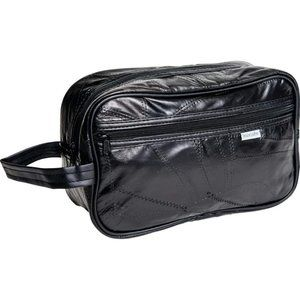 Design Genuine Leather Personal Travel Bag